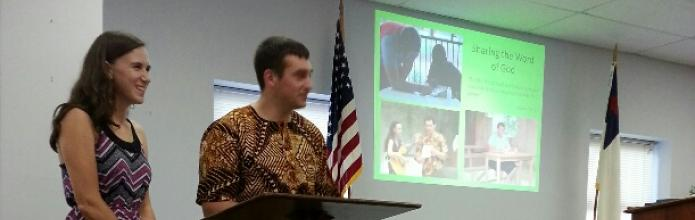Missionary visit at Chapel.