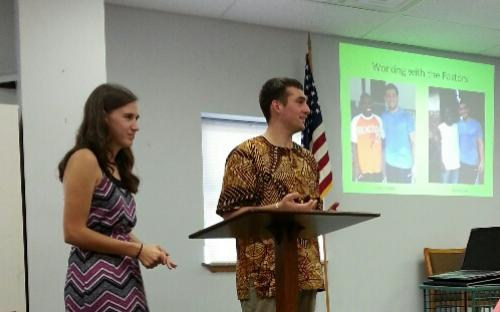Pastor Ben talks about working with pastors in Sierra Leone.