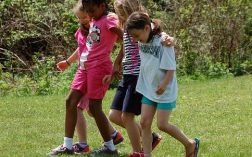 CCA elementary students, Field Days