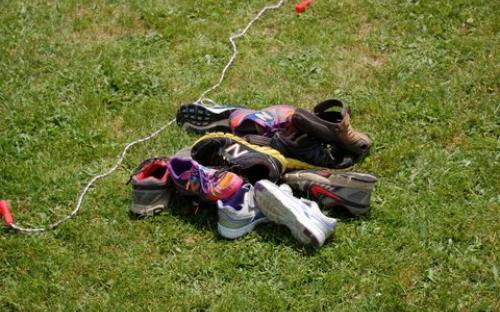CCA shoe race